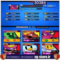 برول استارز لول 100 کد 30384/لجند اسپایک و سندی/همراه بازی دیگر